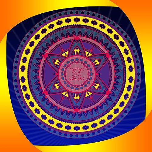 Mandala Färbung für Erwachsene - Mandala coloring for adult: Free Relaxing & Stress relief Game for beginner