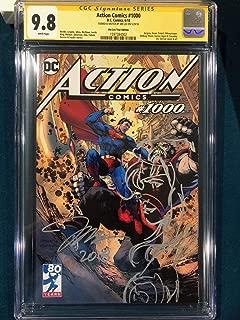 CGC 9.8 JIM LEE SIGNED ORIGINAL ART SKETCH COMIC WONDER WOMAN SUPERMAN Stan