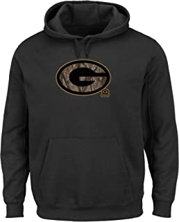 Majestic Green Bay Packers NFL Camo Tek Patch Men's Hooded Sweatshirt
