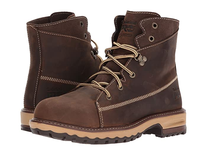 Timberland PRO  Hightower 6 Alloy Safety Toe (Kaffe Full Grain Leather) Womens Work Lace-up Boots