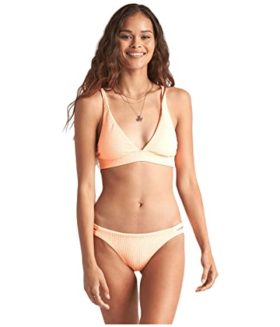 Billabong Under the Sun High Point Tri Top (Neon Peach) Women