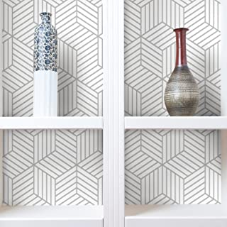 black white and grey geometric wallpaper
