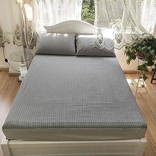 Premium Quality Plain Fitted Sheet, Soft & Cosy Fleece Bed Linen, Bedding, Kingsize Bedsheet,153X203+40