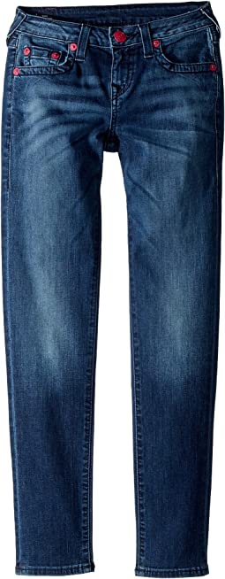 True Religion Kids - Casey Skinny Jeans in Blue Anatomy (Big Kids)