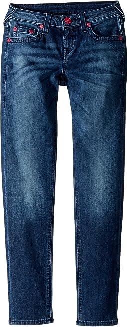 True Religion Kids - Casey Skinny Jeans in Blue Anatomy (Big Kids)