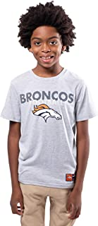 Ultra Game NFL Boys' Active Crew Neck Tee Shirt