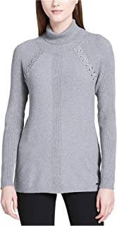 Calvin Klein Womens Ribbed Knit Sweater