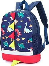 Kid Toddler Backpack Boy Preschool with Strap Dinosaur Blue Kindergarten Leash Bookbag