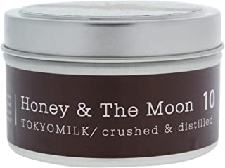 TOKYOMILK Crushed And Distilled Tin Travel Candle, Honey & The Moon 10