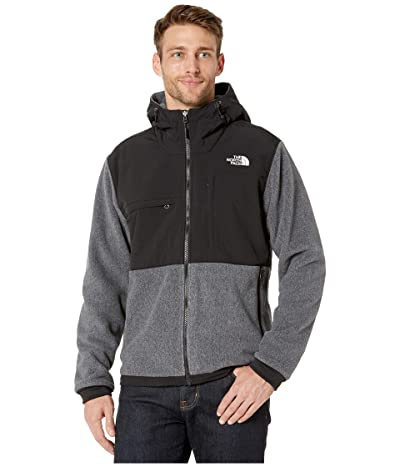 The North Face Denali 2 Hoodie (Charcoal Grey Heather) Men