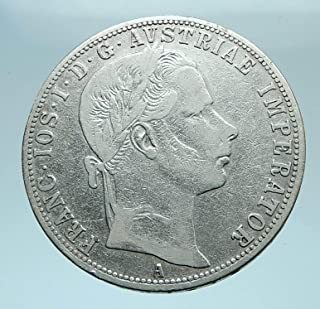 1860 AT 1860 A AUSTRIA w KING FRANZ JOSEPH I Aquila Genui coin Good Uncertified