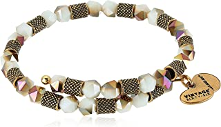 Alex and Ani Womens Ruler Wrap, Robin Bangle Bracelet