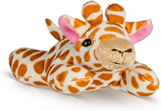 Wildlife Tree Single Giraffe Mini 4 Inch Small Stuffed Animal, Zoo Toys, Party Favors for Kids