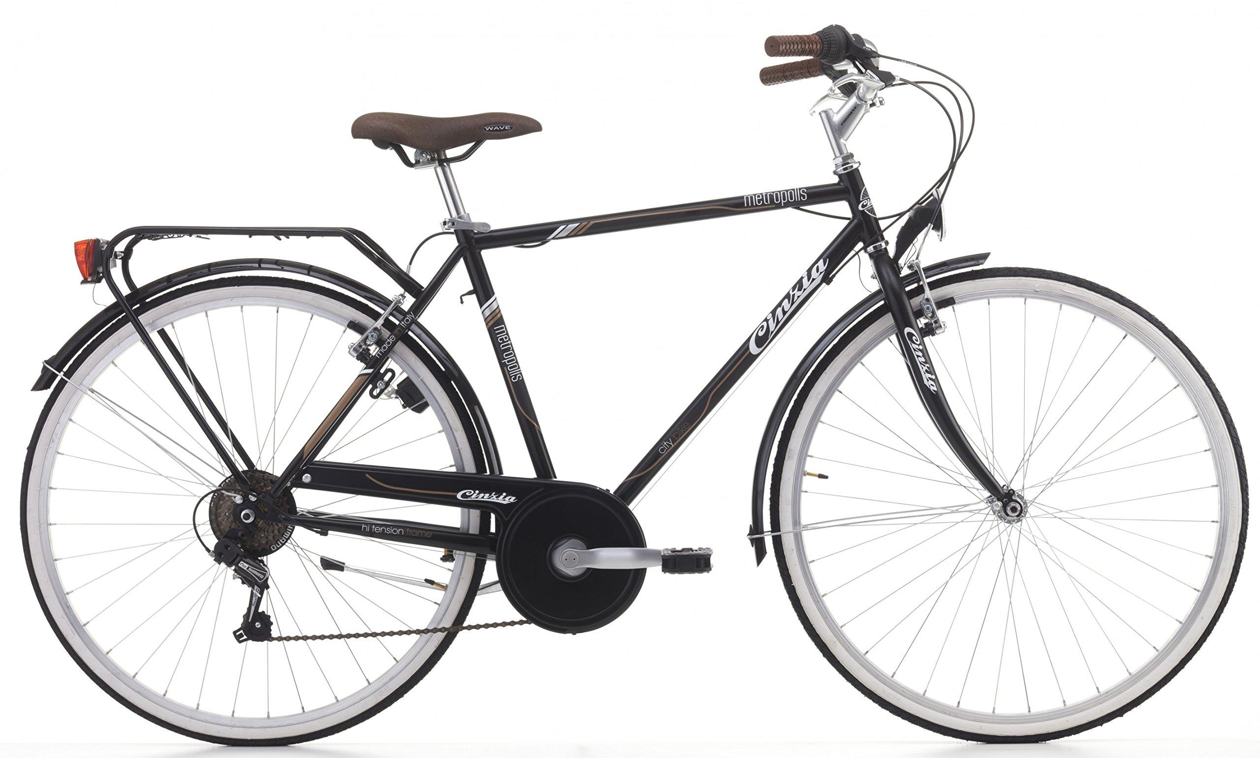 Cicli Cinzia Bicicleta Perla para Hombres, Cuadro de Aluminio, 21 ...