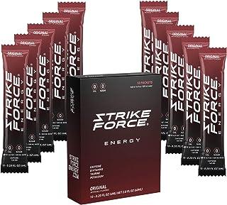 Strike Force Energy Drink Mix - Healthy Water Enhancer + Caffeine, Vitamin b12 & Potassium - Natural Tasting Flavor for Ke...