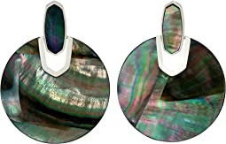 Bright Silver/Black Mother-of-Pearl