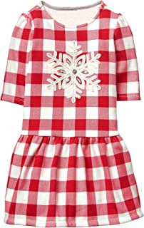 Girls' Toddler Ruffle Bottom Printed Dress