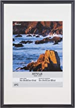 Darice Black, Matted Picture Frame, 24x36 to 18x24 inches
