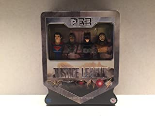justice league pez set
