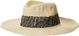 Hat Attack - Wide Stripe Fedora