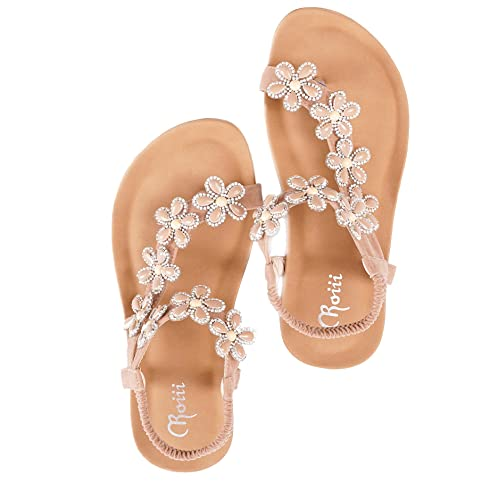 c48acad87898 Roiii Womens Ladies Diamante Jelly Sandals Summer Beach FLIP Flops Toe Post  Shoes Size