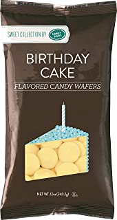Make N' Mold Birthday-Cake-Flavored Melting Candy Wafers, 12 Ounce