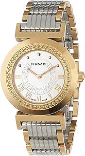Versace - Reloj Analógico para Mujer de Cuarzo con Correa en Cuero 3400001215415