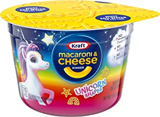 Kraft Easy Mac Unicorn Shapes Macaroni And Cheese (10 Microwavable Cups)