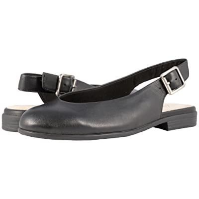 Trotters Alice (Black Soft Leather) Women