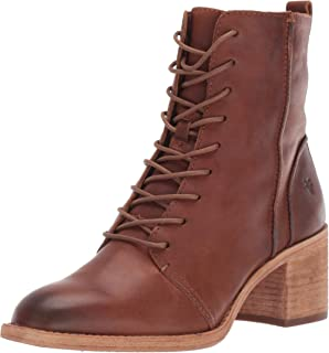 FRYE Women's Monroe Seamed Lace Up Ankle Boot
