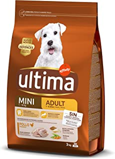 comprar comparacion Ultima Pienso para Perros Mini Adult con Pollo y Arroz, 3 kg