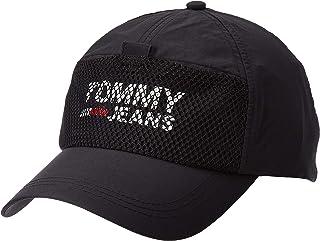 قبعة كول سيتي مع شعار تومي جينز للرجال من تومي هيلفجر، اسود، مقاس واحد
