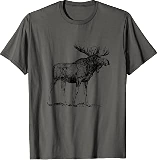 Best moose t shirt Reviews