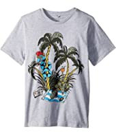 Stella McCartney Kids - Snake On Holiday Short Sleeve Tee Early (Toddler/Little Kids/Big Kids)