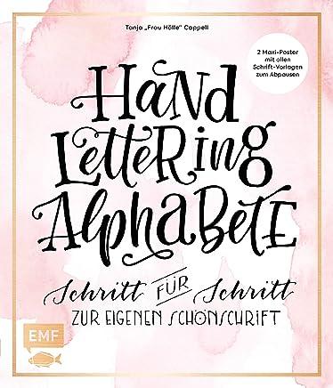 Handlettering Alphabete Schritt für Schritt zur eigenen Schönschrift 2 axiPoster it allen SchriftVorlagen zu AbpausenTanja Cappell