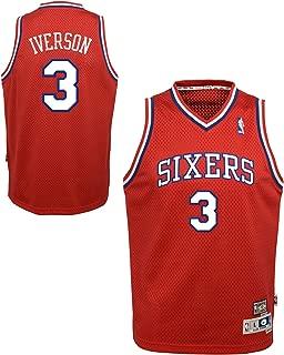 adidas Allen Iverson #3 Philadelphia 76ers Youth Hardwood Classics Swingman Jersey