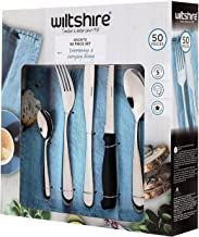 Wiltshire Bronte 50 Piece Stainless Steel Cutlery Set