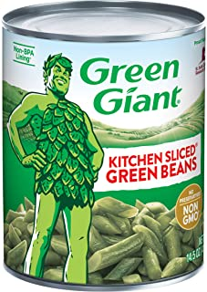 Green Giant Kitchen Sliced Green Beans, 14.5 Ounce Can (Pack of 24)