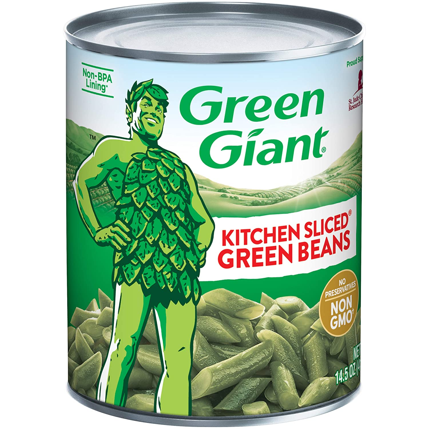 Free Shipping Cheap Bargain Gift Inexpensive Green Giant Kitchen Sliced Beans Ounce of Can Pack 14.5