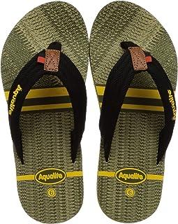 Aqualite Mehandi Green Slippers - 8 UK (42 EU) (LGV00162GMDYL08)