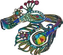 Betsey Johnson - Oilslick Peacock Hinge Bracelet