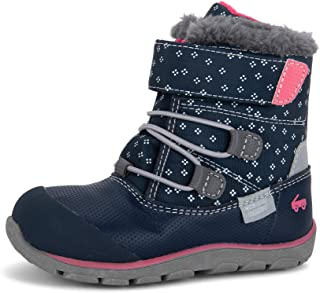 Gilman Waterproof Insulated Boots for Kids, Navy/Pink, 1Y