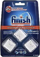 Finish Dishwasher Cleaner Tablets 3 Pack, 0.068 kilograms