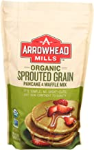 Arrowhead Mills Organic Sprouted Grain Pancake and Waffle Mix, 26 oz. Bag