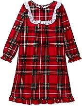 Komar Kids Little Girls'  Traditional Holiday Plaid Nightgown