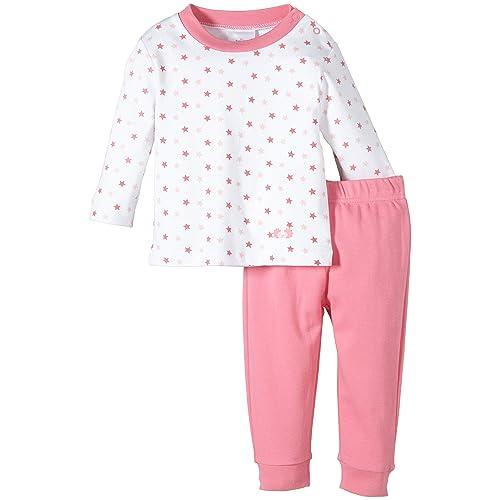 Twins Baby - Mädchen Zweiteiliger Schlafanzug mit Oberteil 50f4da12c4