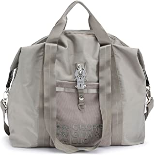George Gina & Lucy Logo Nylon Bagnificent Hand Bag Don King Grey