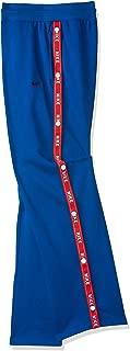 Nike Women's LOGO TAPE POPPER Pants, Red (Indigo Force/university Red), Large