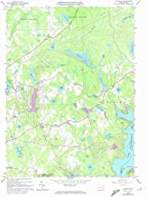 YellowMaps Lakeville PA topo map, 1:24000 Scale, 7.5 X 7.5 Minute, Historical, 1966, Updated 1974, 26.9 x 22.1 in