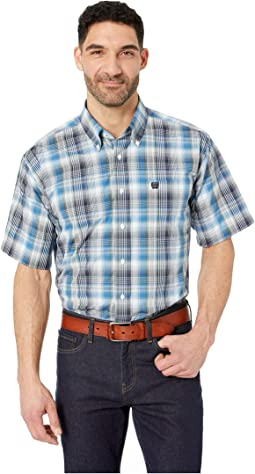 Short Sleeve Plaid